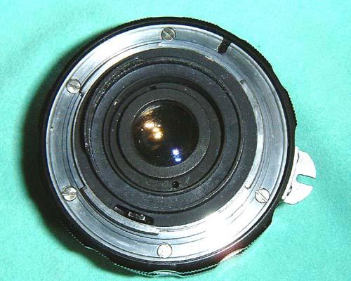 ●NIKKOR-S 35mmF2.8 ● 頑固なレンズのカビ取り     mentenin_d0138130_19393577.jpg