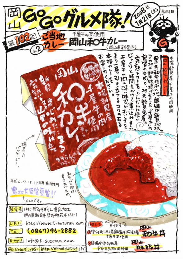 岡山和牛カレー_d0118987_1032348.jpg