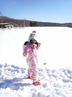 スキー→凧揚げ。_b0047734_1684218.jpg