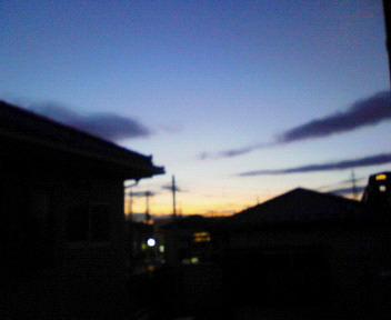 夕焼け_a0028350_17311335.jpg