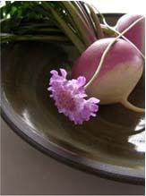 花と蕪_d0136461_2042613.jpg