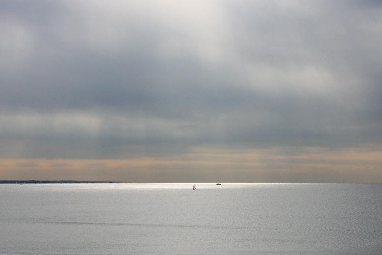 七里ヶ浜の海、朝と夕。_b0022268_20381095.jpg