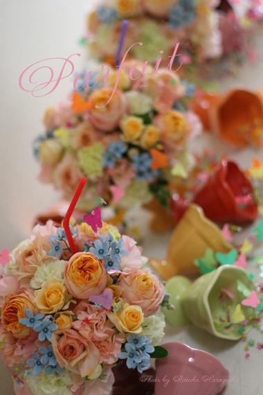 お花のパフェを召し上がれ♪_f0127281_2216593.jpg