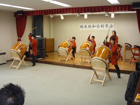 楽鼓、新年初舞台_b0074601_1611466.jpg
