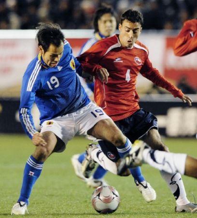サッカー 日本対チリ_e0083922_6213753.jpg