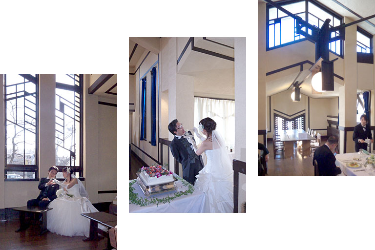 結婚式@明日館_c0081286_2374846.jpg