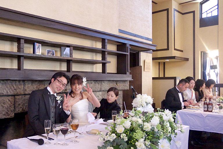 結婚式@明日館_c0081286_238061.jpg