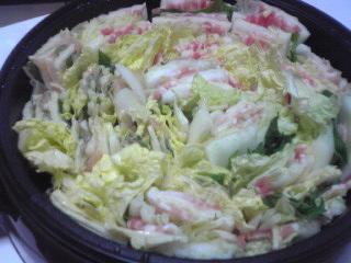 豚バラと鶏むね肉と白菜の重ね鍋_c0025217_18435130.jpg