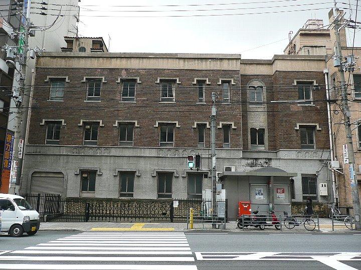 浪速郵便局阿倍野橋分室+大手前看護専門学校_c0112559_16483039.jpg