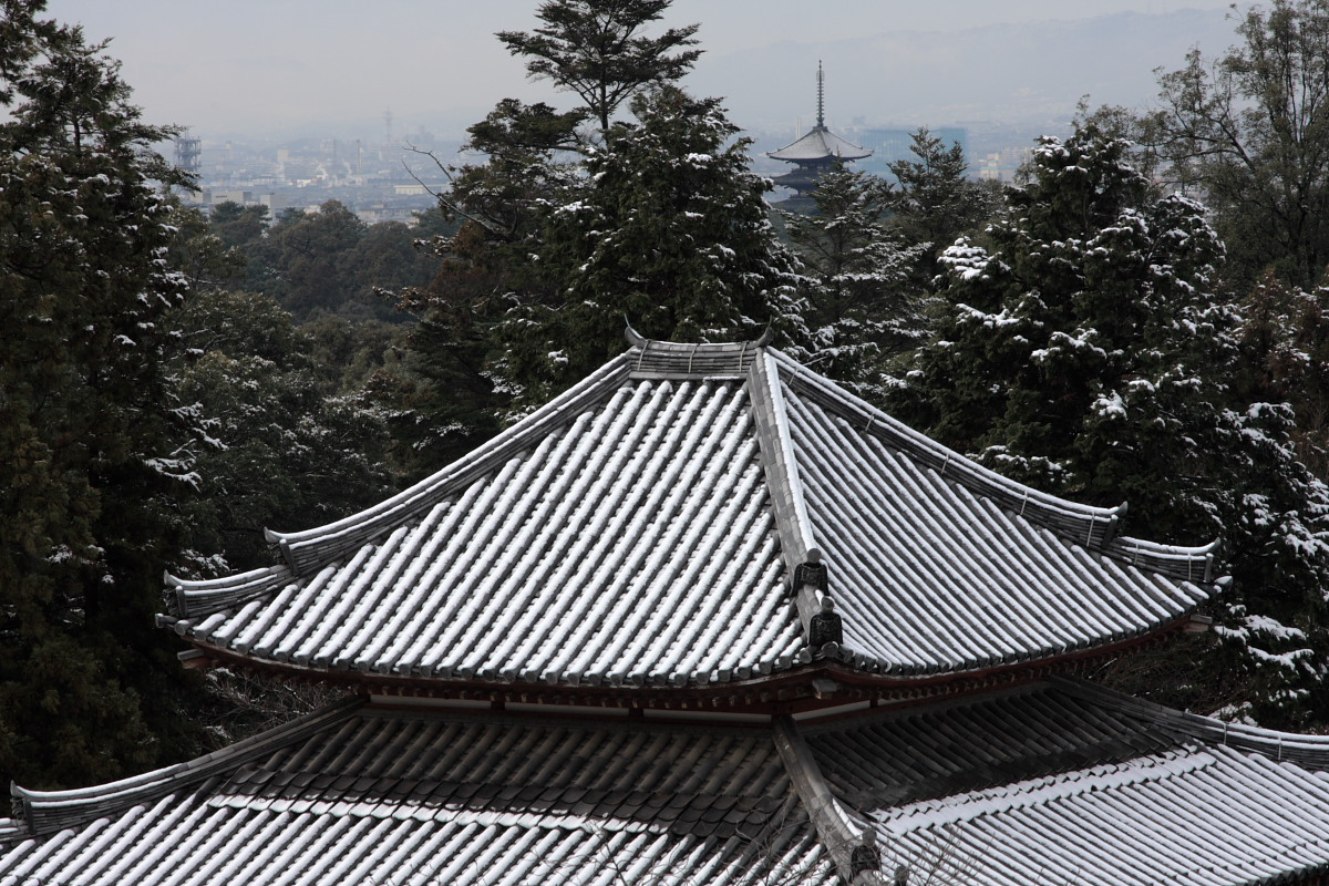 奈良 東大寺二月堂 雪景色 2_f0021869_1413465.jpg