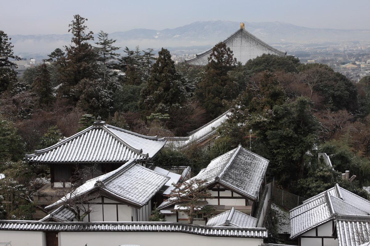奈良 東大寺二月堂 雪景色 2_f0021869_1413574.jpg