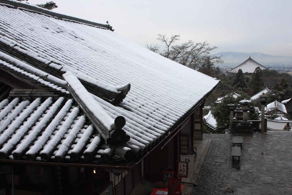 奈良 東大寺二月堂 雪景色 2_f0021869_14192171.jpg