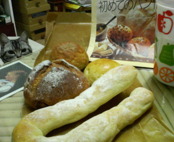 白丸パンと黒丸パン?_c0143073_165329100.jpg