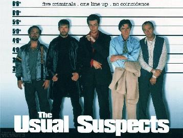 ユージュアル・サスペクツ The Usual Suspects_e0040938_23343061.jpg