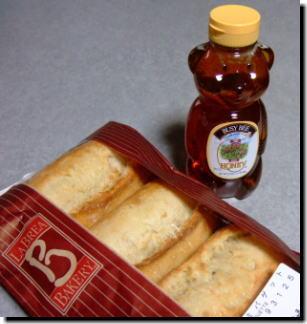 ハチミツとパン