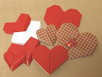 簡単 折り紙 折り紙でハートの作り方 : matome.naver.jp