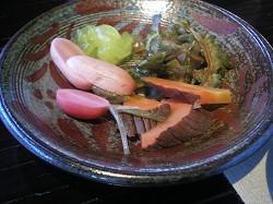 2007年12月 喜瀬別邸 朝食1回目_a0055835_21592252.jpg