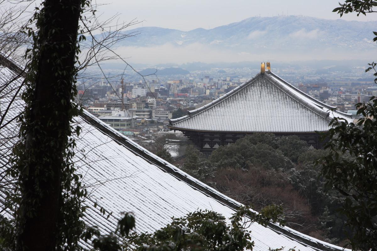 奈良 東大寺二月堂 雪景色 3_f0021869_10275192.jpg