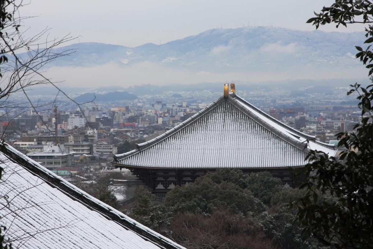 奈良 東大寺二月堂 雪景色 3_f0021869_10295998.jpg