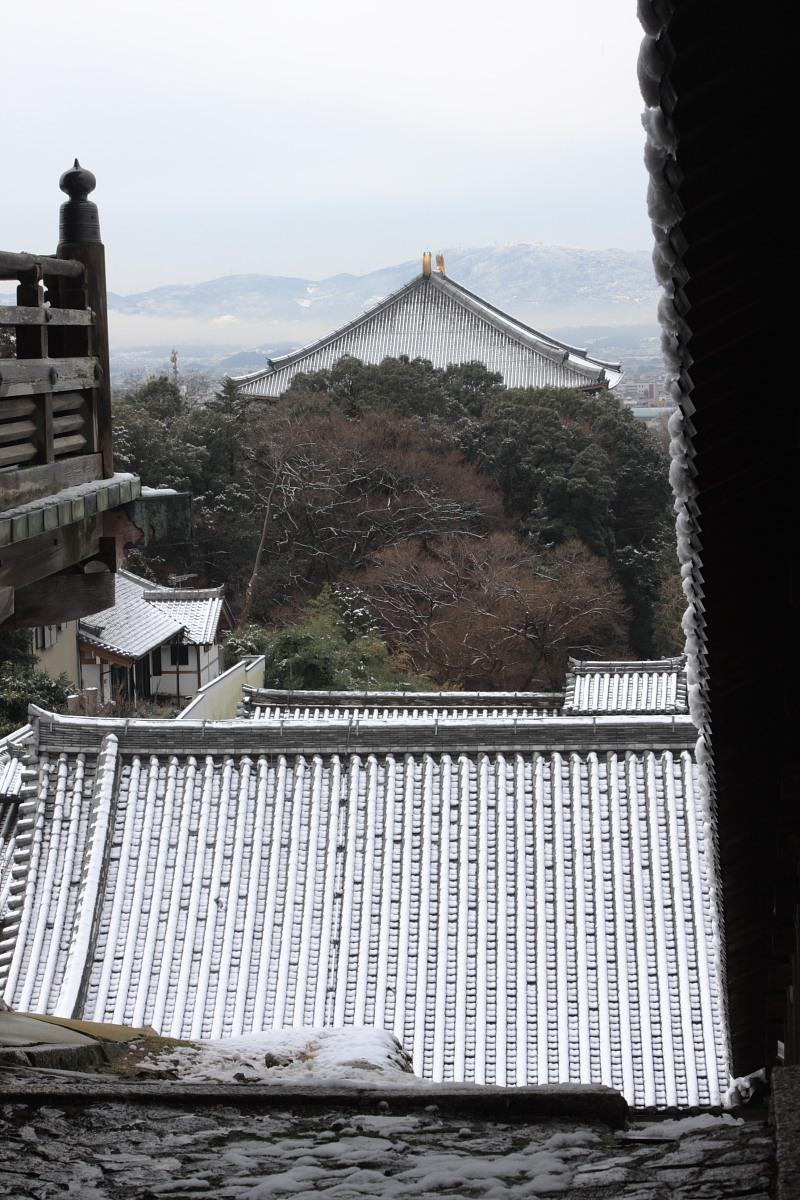 奈良 東大寺二月堂 雪景色 3_f0021869_1035591.jpg