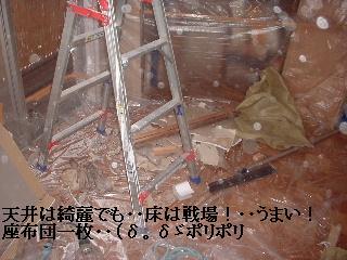 屋根コーキング・天井石膏ボード・床下収納庫_f0031037_17562117.jpg
