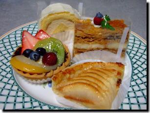カルフールのケーキ