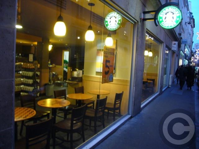 ■パリのスタバ(Starbucks)_a0014299_21151246.jpg