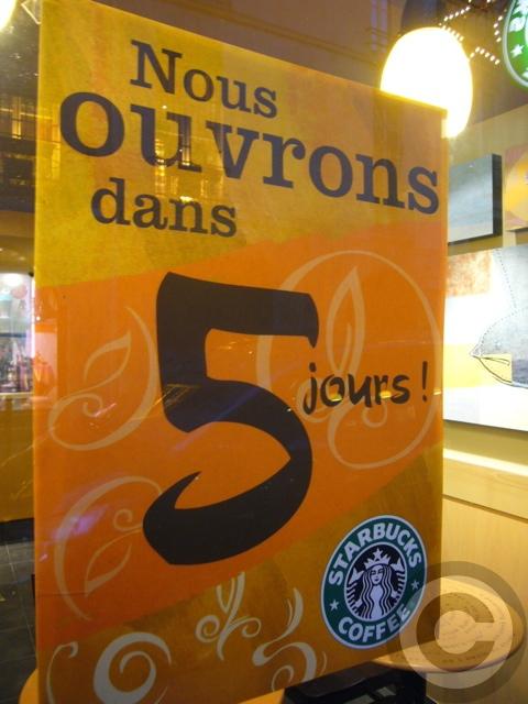 ■パリのスタバ(Starbucks)_a0014299_21153352.jpg