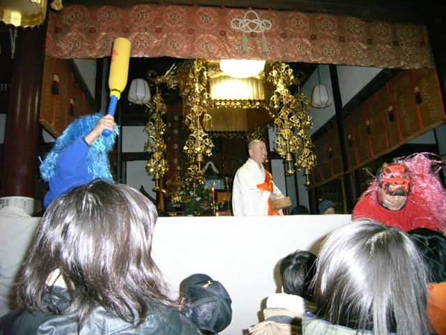 妙覚寺で節分会_f0153098_9371861.jpg