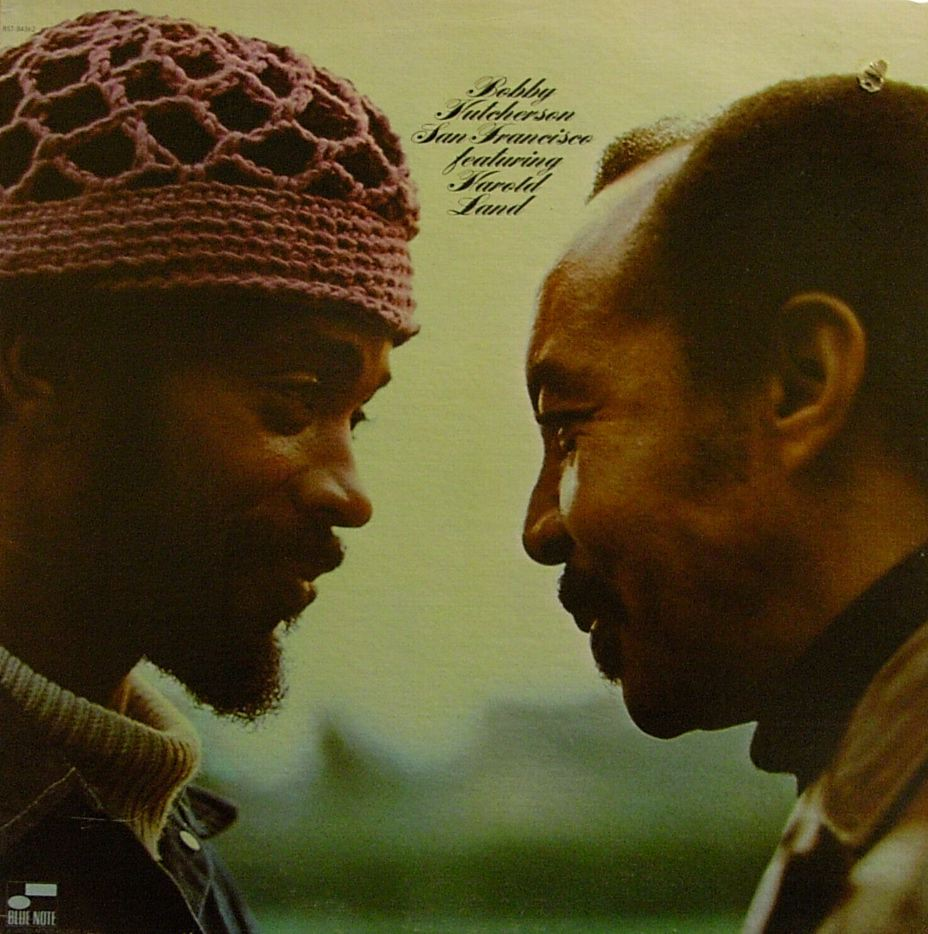 bobby hutcherson - san francisco (album art)