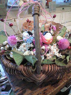お雛祭りのためのアレンジ♪_d0058876_14584525.jpg