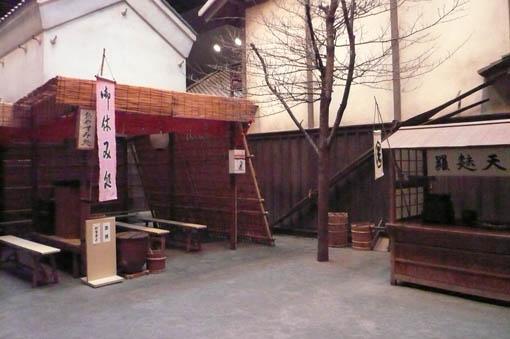 深川江戸資料館 6:広場_e0054299_1385170.jpg