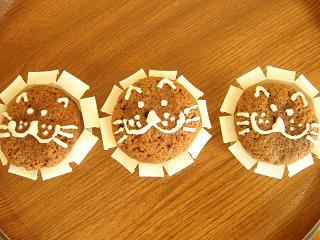 ライオンショコラカップケーキ_b0102217_2132355.jpg