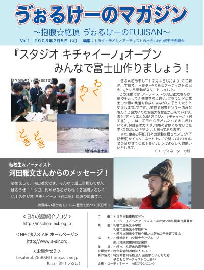2008年2月5日(火) う゛ぉるけーの・キチャイーノ_a0062127_0434389.jpg