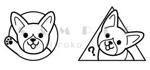 P\'sちゃんキャラクターマーク_d0102523_0424249.jpg