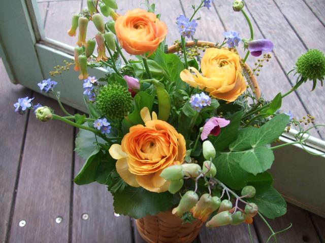 オークリーフ(お見舞いの花)_f0049672_11185866.jpg