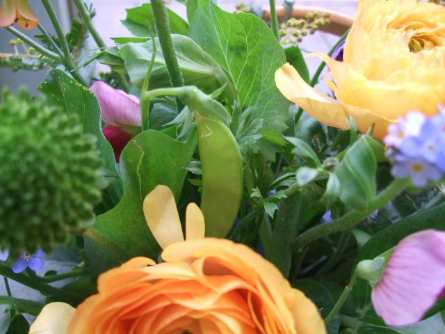 オークリーフ(お見舞いの花)_f0049672_11375471.jpg