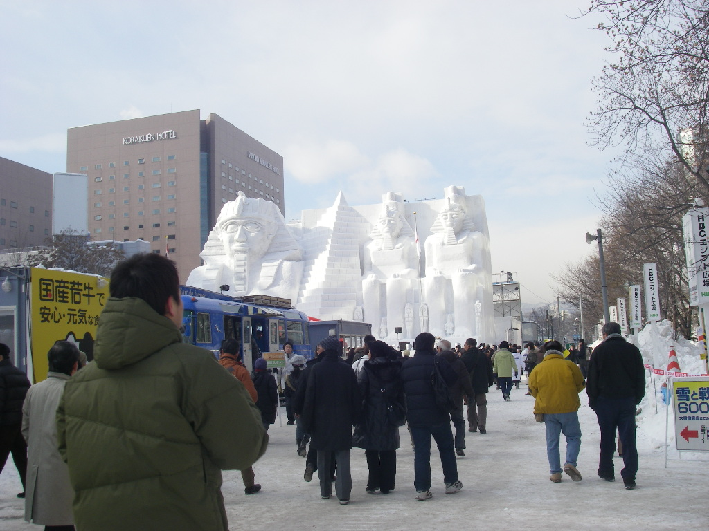 The 59th Sapporo Snow Festival_e0014773_10223973.jpg