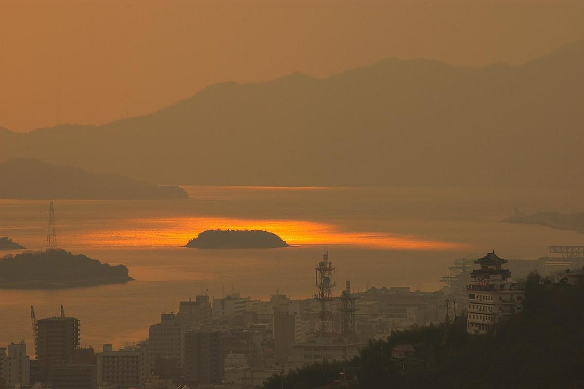 浄土寺山展望台より空からのプレゼント_c0152379_8303823.jpg