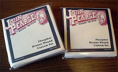 「Fender Acoustic GA-45SCE」に「John Pearse」の弦_c0137404_058080.jpg