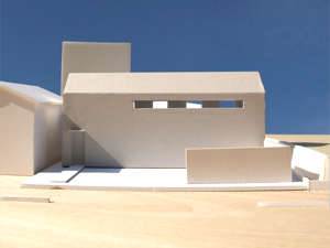 [House at Yodoe \'scheme-07\'] scale of 1:100 model_f0108347_23425254.jpg