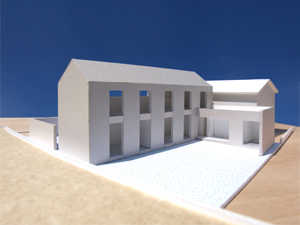 [House at Yodoe \'scheme-07\'] scale of 1:100 model_f0108347_23431275.jpg