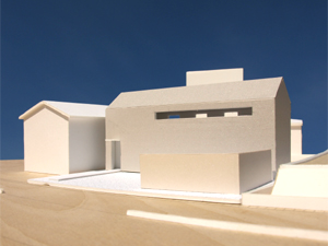 [House at Yodoe \'scheme-07\'] scale of 1:100 model_f0108347_2343483.jpg