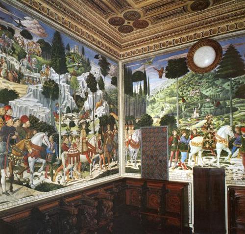 フィレンツェの宝石箱~メディチ・リッカルディ宮・東方三賢王の礼拝堂_f0106597_611183.jpg