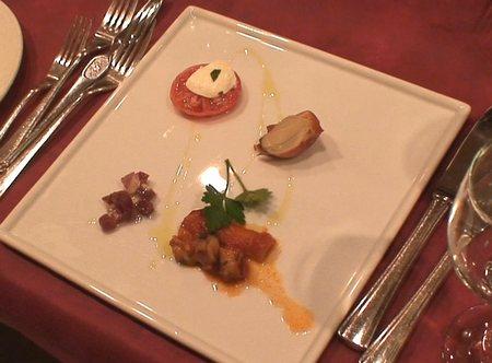 サバティーニ・ディ・フィレンツェのディナー(1)  2008年2月15日_d0083265_1515020.jpg