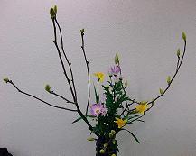 ☆春を活ける・・・_d0069085_2102113.jpg