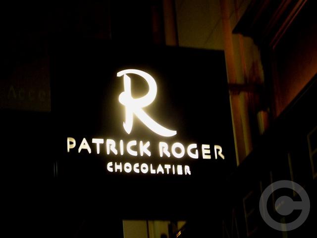 ■Patrick Roger 街角のチョコレート(2月13日パリ)_a0014299_734412.jpg