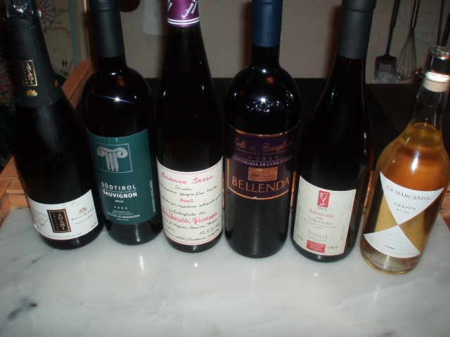 第三回料理とワインのAbbinamento(相性)アマローネ飲み比べ_d0128354_1293356.jpg