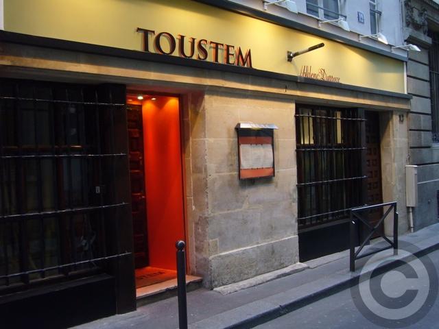 ■Le Toustem(パリ)_a0014299_23461894.jpg