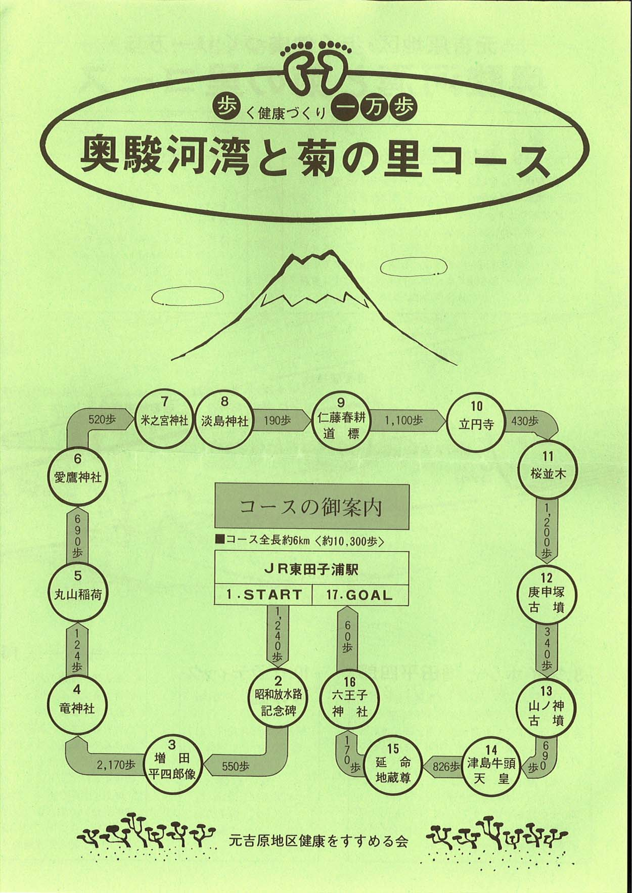 一万歩 元吉原 奥駿河湾と菊の里コース_f0141310_21506.jpg